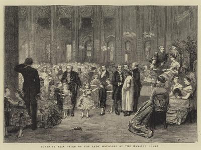 Juvenile Ball Given by the Lady Mayoress at the Mansion House-George Goodwin Kilburne-Giclee Print