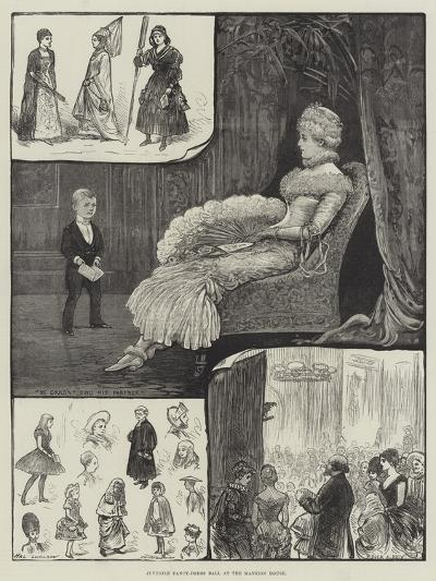 Juvenile Fancy-Dress Ball at Mansion House-Henry Stephen Ludlow-Giclee Print