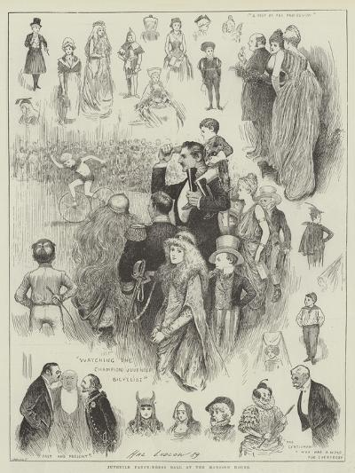 Juvenile Fancy-Dress Ball at the Mansion House-Henry Stephen Ludlow-Giclee Print