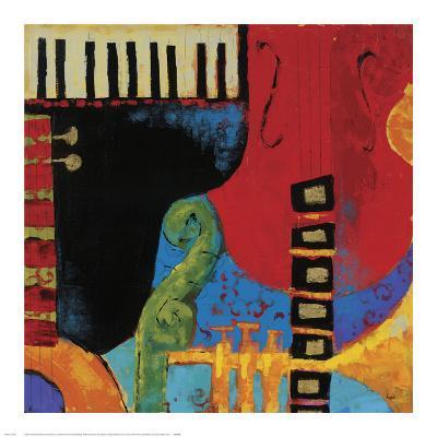 Juxta Jazz III-Karen Dupr?-Art Print