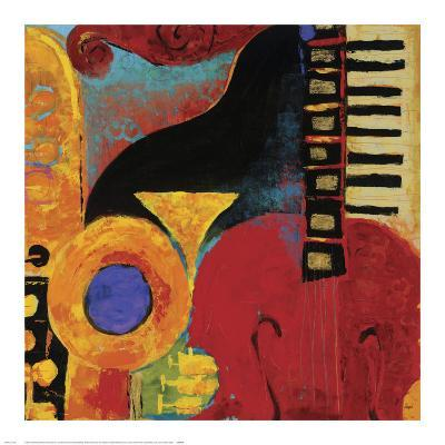 Juxta Jazz IV-Karen Dupr?-Art Print