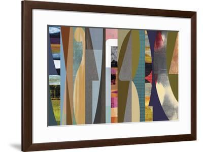 Juxtaposition 3-Osbourn-Framed Giclee Print