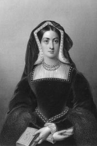 Catherine of Aragon (1485-153), the First Wife of King Henry VIII, 1851 by JW Knight