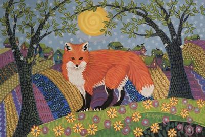 Snowy Spring Fox