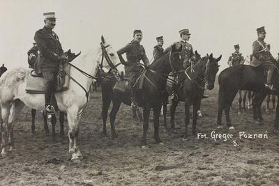 War Campaign 1917-1920: Military Mission in Poland (Warsaw - Posen) March-April 1919