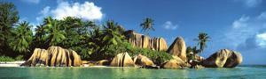La Digue Island, Seychelles, Indian Ocean by K^H^ Hanel