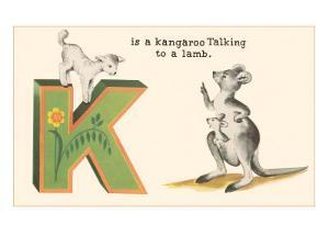 K is a Kangaroo