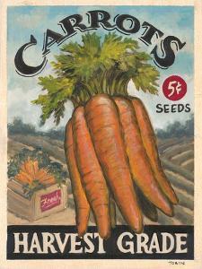 Fresh Carrots by K. Tobin