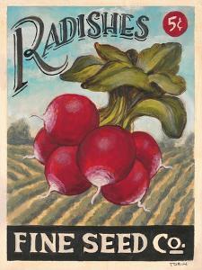 Ravishing Radishes by K. Tobin
