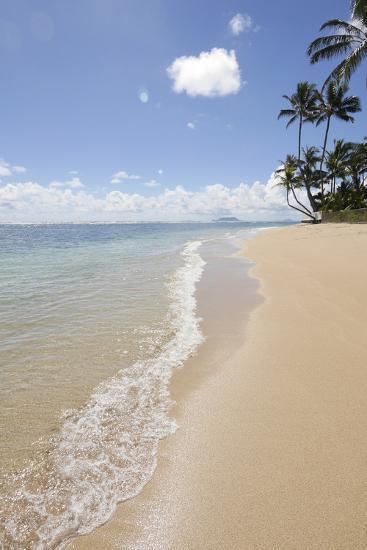 Kaaawa Beach Park, Oahu, Hawaii-Douglas Peebles-Photographic Print