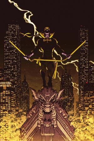 Iron Fist: The Living Weapon No. 12 Cover by Kaare Andrews
