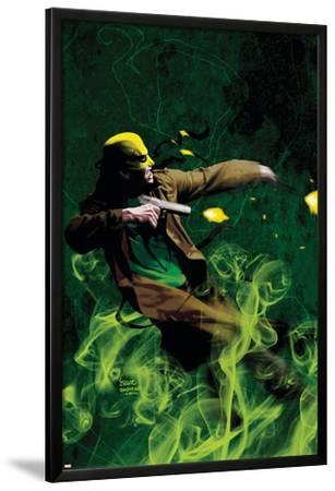 The Immortal Iron Fist: Orson Randall And The Green Mist Of Death No.1 Cover: Iron Fist