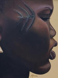 Tribal Mark, 2007 by Kaaria Mucherera