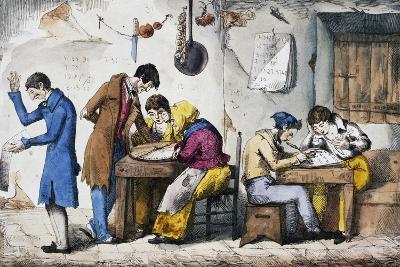 Kabbalists, 1832-Vincenzo Gaiatti-Giclee Print