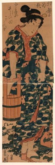 Kaga No Chiyojo-Keisai Eisen-Giclee Print