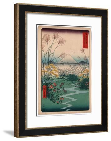 Kai Outsuki No Hara-Utagawa Hiroshige-Framed Giclee Print