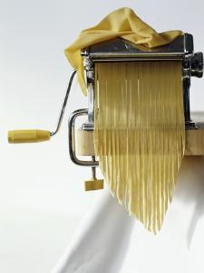 Home-Made Tagliatelle with Pasta Maker by Kai Stiepel