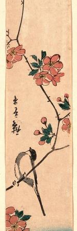 Kaido Ni Shokin-Utagawa Hiroshige-Giclee Print