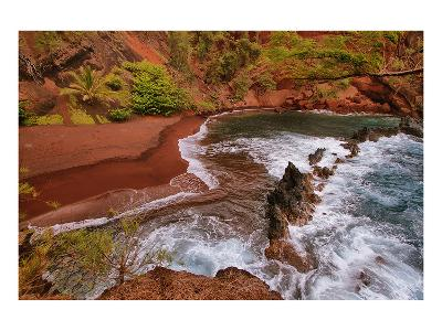Kaihalulu Beach Maui Hawaii--Art Print