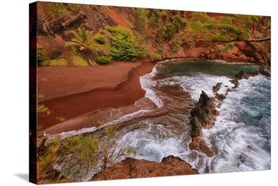 Kaihalulu Beach Maui Hawaii--Stretched Canvas Print
