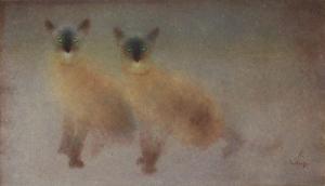 Les Deux Siamois by Kaïko Moti