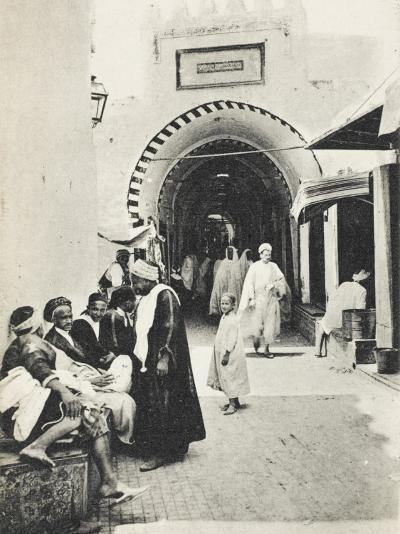 Kairouan - Tunisia - Entrance to the Bazaars--Photographic Print