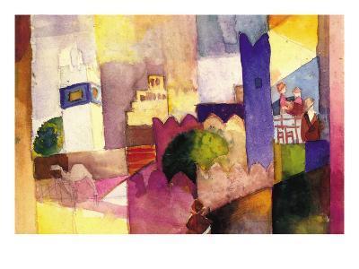 Kairouan-Auguste Macke-Art Print