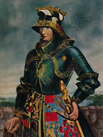 'Kaiser Maximilian I. 1459-1519 - Gemälde von Rubens', 1934-Unknown-Giclee Print