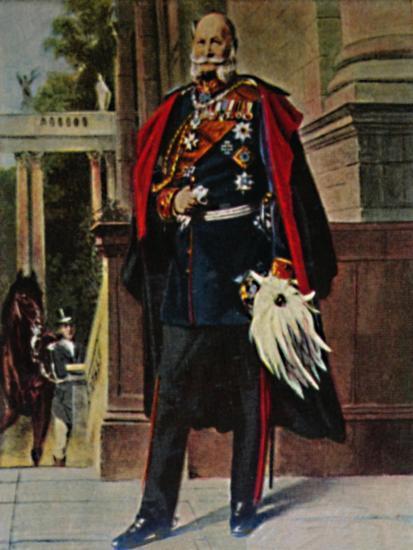 'Kaiser Wilhelm I. 1797-1888. - Gemälde von Plockhorst', 1934-Unknown-Giclee Print