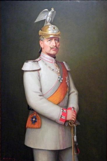 Kaiser Wilhelm II, 1910-Adolf Emil Hering-Giclee Print