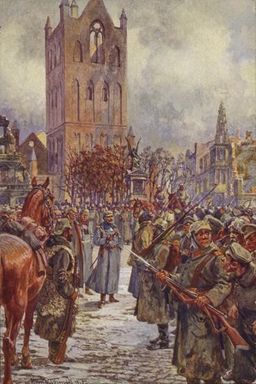 Kaiser Wilhelm II in Lyck--Giclee Print