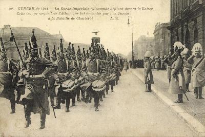 Kaiser Wilhelm II, Königliche Garde,Parade,Charleroi--Giclee Print