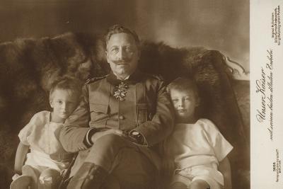 Kaiser Wilhelm II--Photographic Print