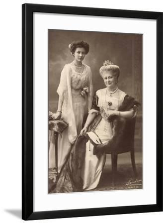 Kaiserin Auguste Viktoria, Prinzessin Viktoria Luise--Framed Giclee Print
