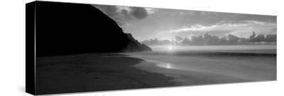 Kalalau Beach Sunset, Na Pali Coast, Hawaii, USA