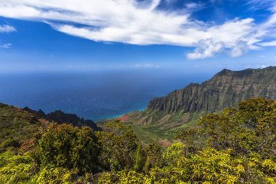 Kalalau Valley Overlook in Kauai-Andrew Shoemaker-Photographic Print