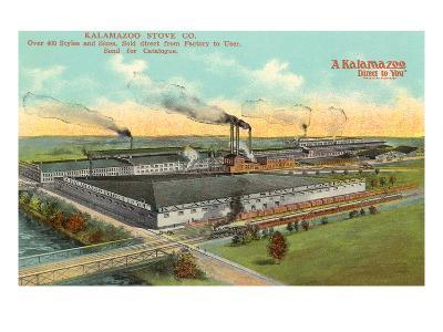Kalamazoo Stove Company, Kalamazoo, Michigan--Art Print