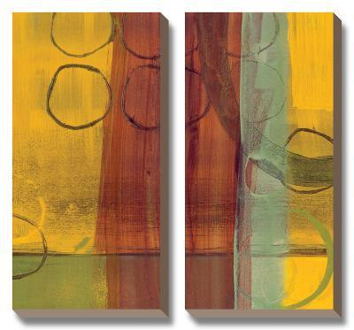 Kaleidoscope Rotations II-Leslie Bernsen-Canvas Art Set