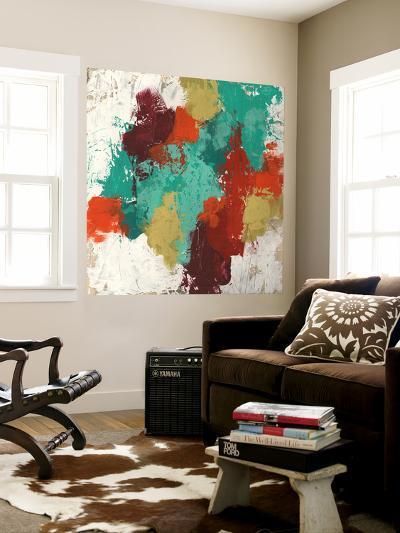 Kaleidoscope Signals II-June Erica Vess-Wall Mural