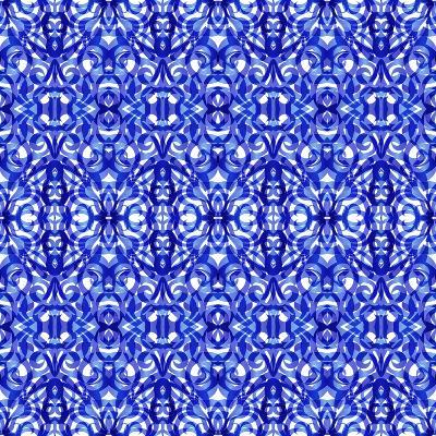 Kaleidoscope Texture Pattern-Medusa81-Art Print