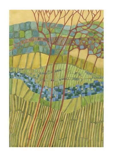 Kaleidoscope-Vanna Lam-Art Print