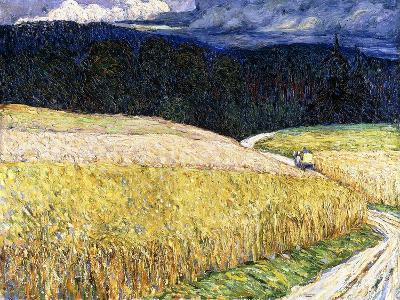 Kallm?nz - Gewitterstimmung (Die Postkutsche). 1904-Wassily Kandinsky-Giclee Print