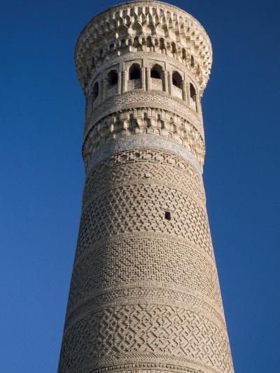 Kalyan Minaret Which Allegedly Awed Genghis Khan-Amar Grover-Photographic Print