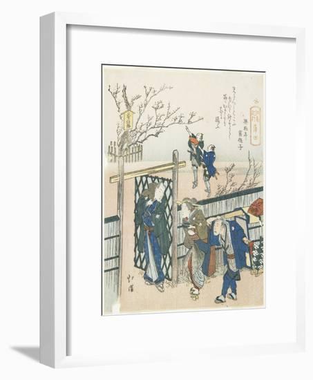 Kamata, 1833-Toyota Hokkei-Framed Giclee Print