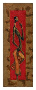 African Drummer I by Kamba