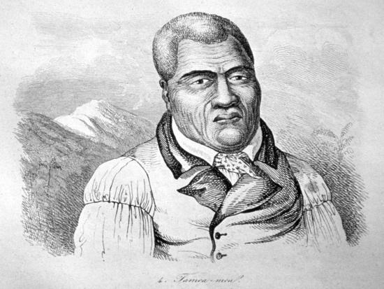 Kamehameha I, C1770-1819-Ludwig Choris-Giclee Print