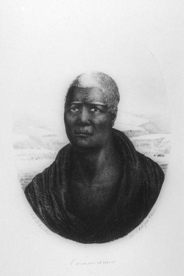 Kamehameha I, Hawaii, 1816-Ludwig Choris-Giclee Print