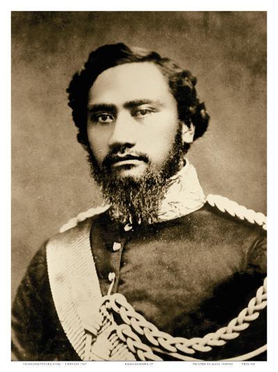 Kamehameha IV, Hawaiian King (1834-1863)--Art Print