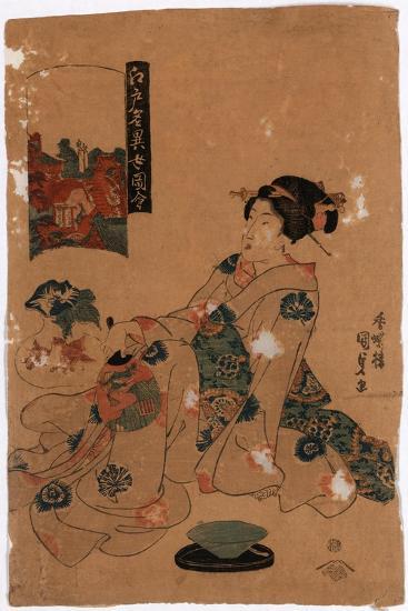 Kameido Tenjin-Utagawa Toyokuni-Giclee Print