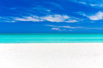 A Beautiful Tropical Beach in Cuba